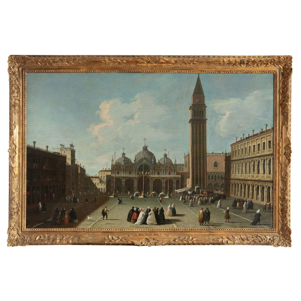 View Of St Marks Square, Venice : The Master Of The Langmatt