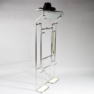Mid Century Furniture: Bauhaus chrome hall stand