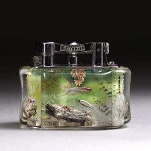 Dunhill Half Giant Aquarium Table Lighter