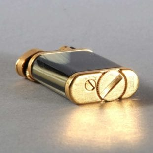 Collection of 3 Dunhill Unique Gold Horn Lighters