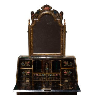 Rare 18th Century Chinese Export Lacquer Dressing Table