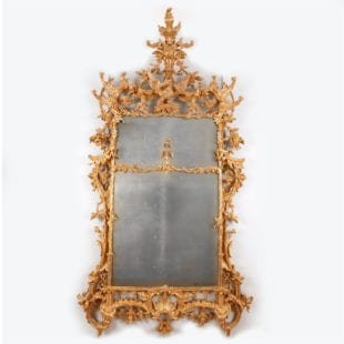 Magnificent George III Giltwood Pier Mirror