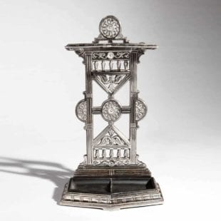 Arts and Crafts Cast Iron Stick Stand