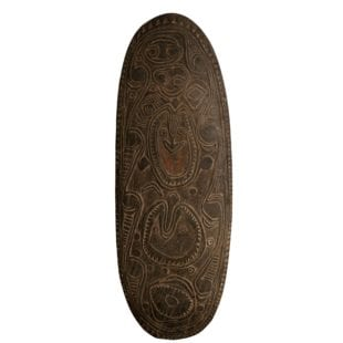 Tribal Shield ||| New Guinea