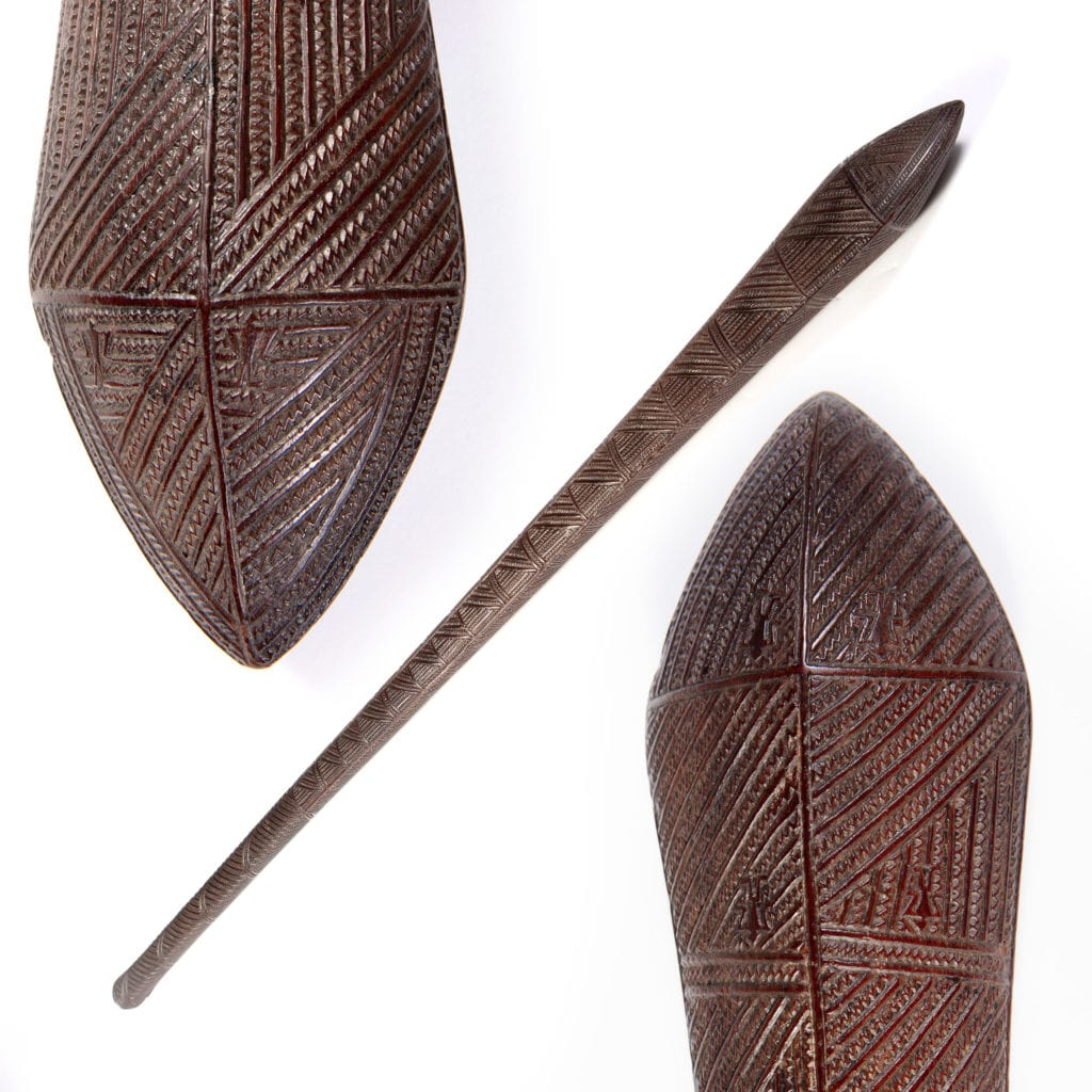 An Exceptional Native Tongan Ironwood War Club