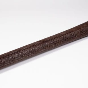Shaft of An Exceptional Native Tongan Ironwood War Club