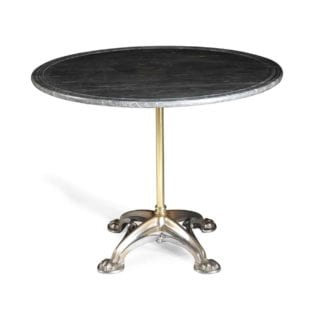 French Mid 19th C Steel Gothic Centre Table