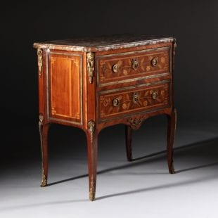 Small Stamped French Louis XVI Commode