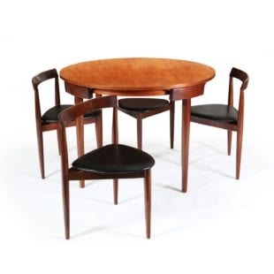 FREM RØJLE Table & Chairs ||| Danish Mid Century Modern Furniture