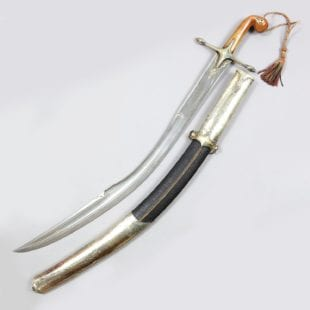 Kilij ||| Ottoman Empire ||| Exceptional Watered Steel Blade ||| Tughra