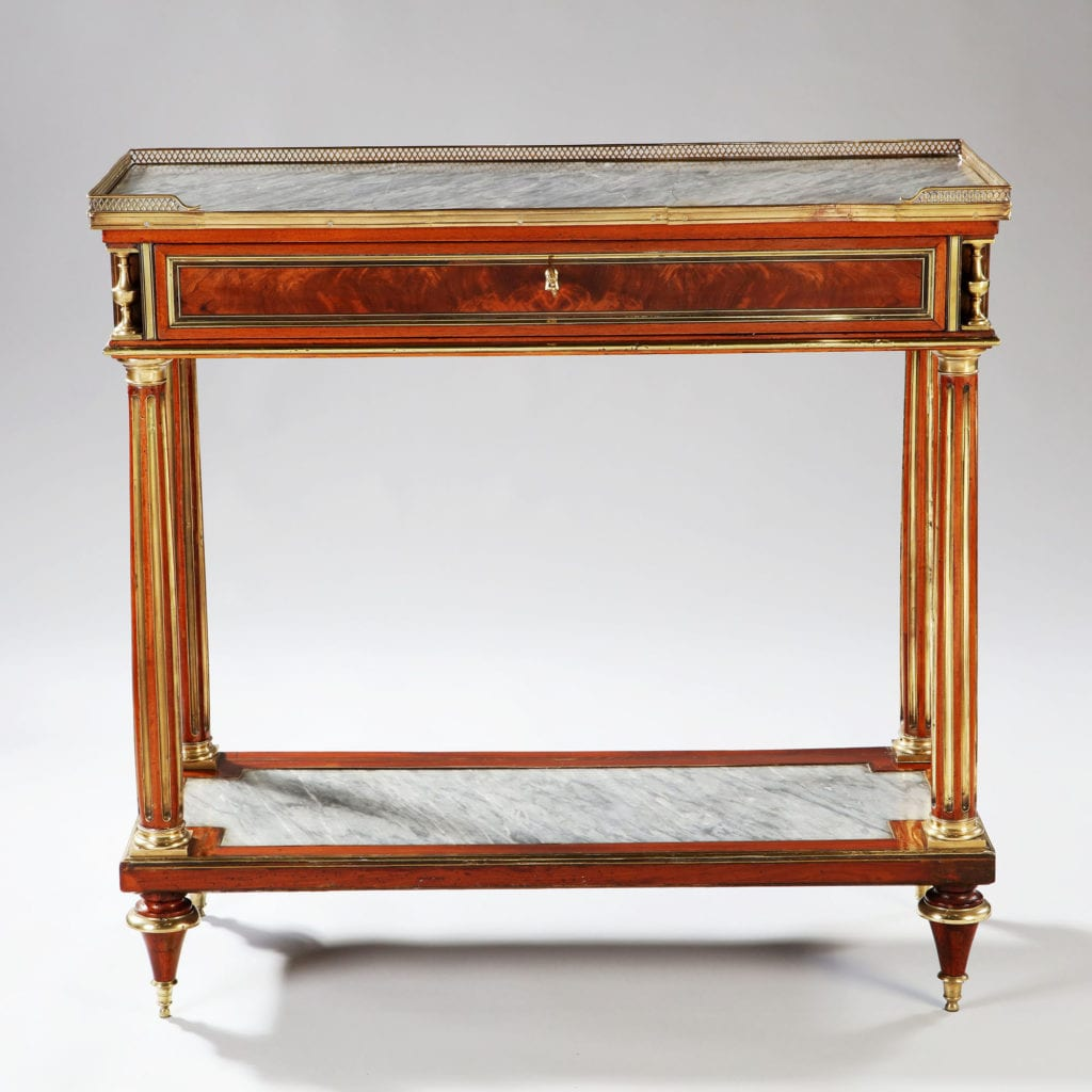 Late 18th century Louis XVI French Console Dessert