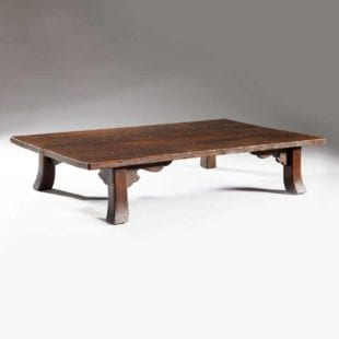 Unique Japanese Low Table - Shou Sugi Ban Cedar Wood Coffee Table