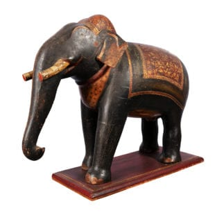 Indian Painted Ceremonial Elephant