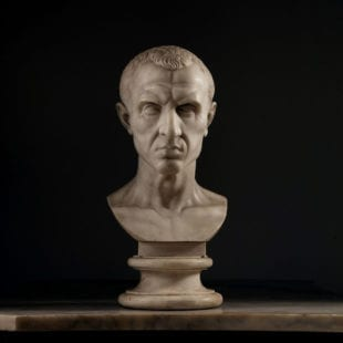 19th Century Grand Tour Bust of Julius Cesar