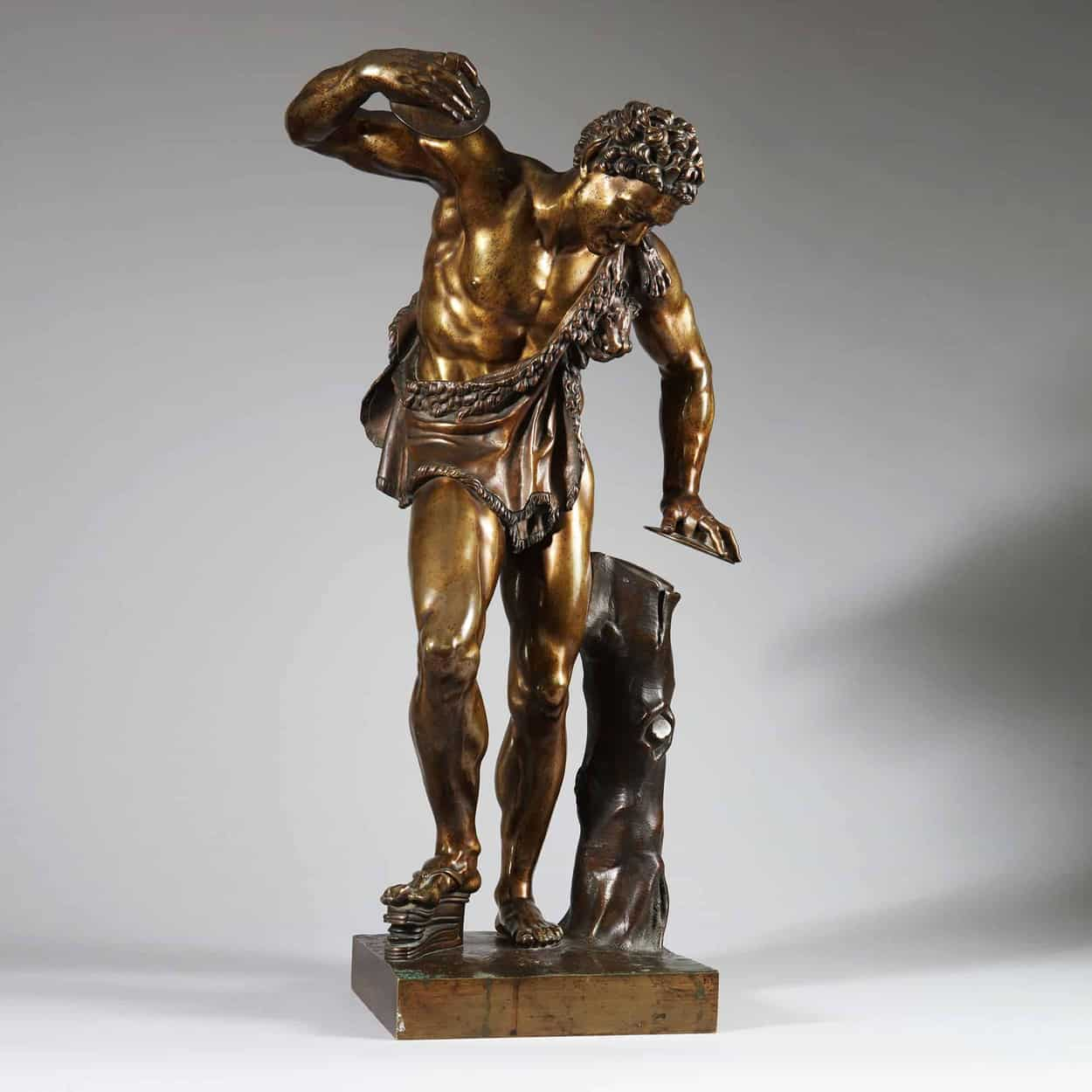 After The Antique Dancing Faun