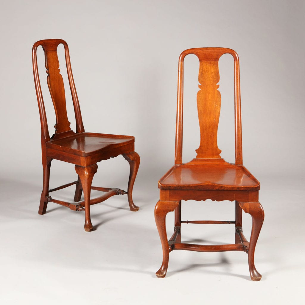 19th-century Chinese side chairs