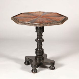 Anglo Indian Specimen Wood Occasional Table