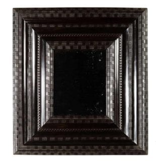 17th Century Flemish Ripple Moulded Ebony Mirror