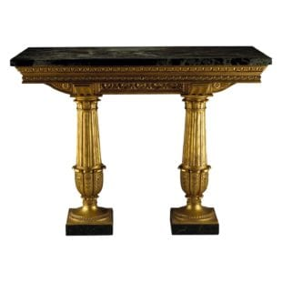 Genoese Giltwood Console Table