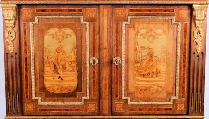 Exceptional Marquetry By E. Varlot