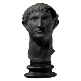 19th century Plaster Cast of Hadrian