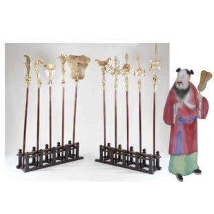 a-collection-of-10-chinese-ceremonial-polearms
