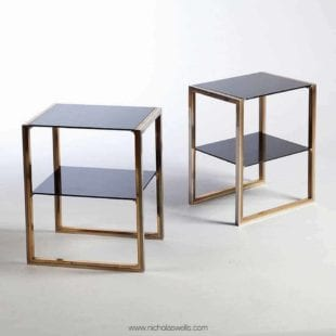 Pair of Willy Rizzo Tables