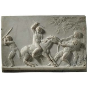 Carlo Uboldi Marble Plaque - Grand Tour