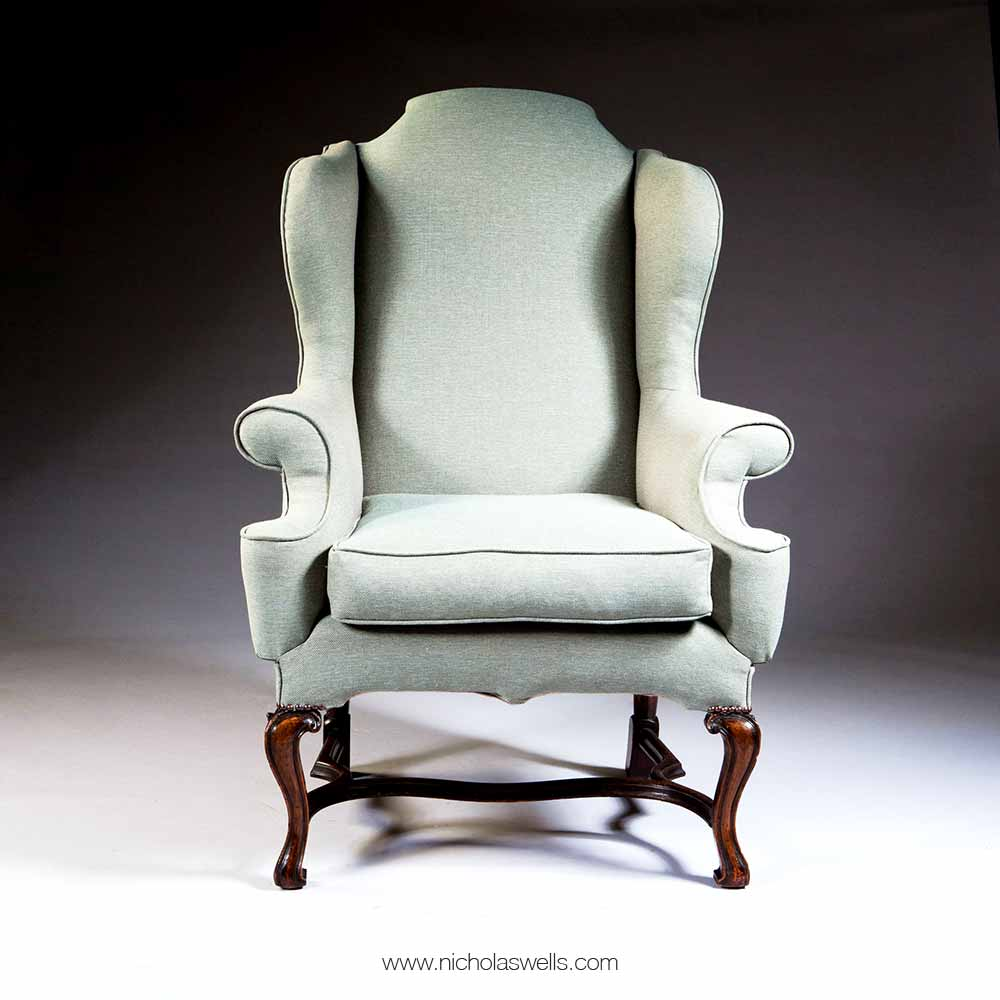 George II Style Wing Chair
