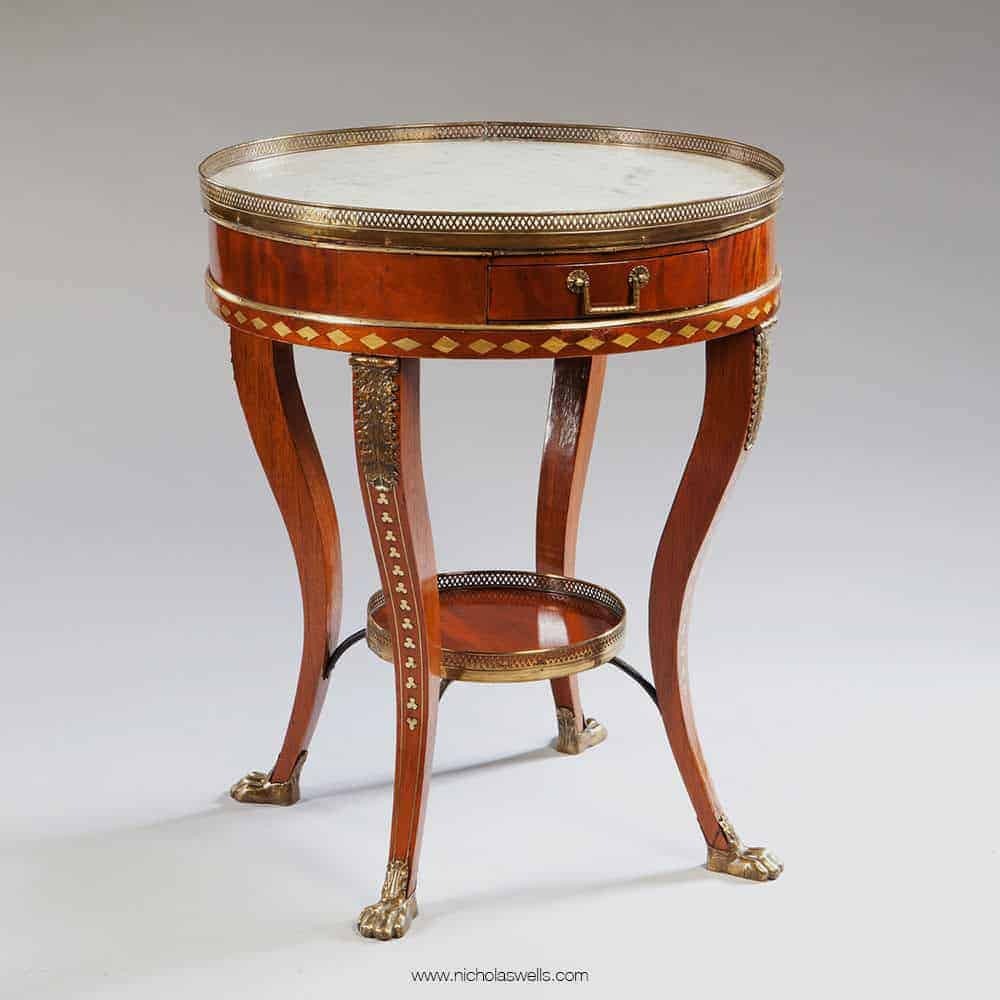 Gueridon Table in the Manner of JJ Chapuis