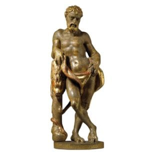 A 16th Century Florentine figure of Hercules