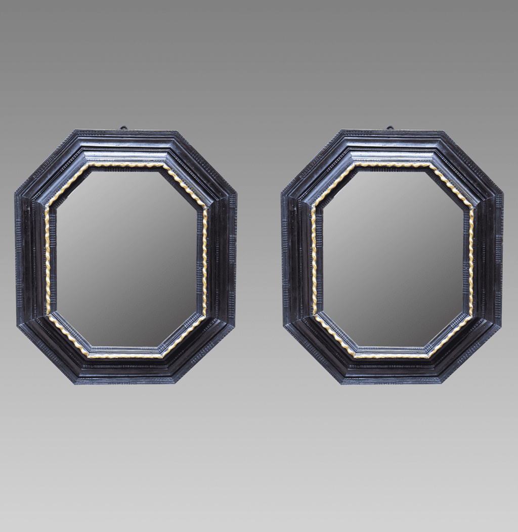 Pair Spanish Of 17th Century Mirrors