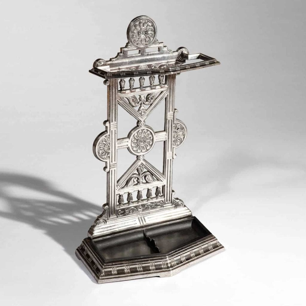 Victorian Cast Iron Hall Stick Stand